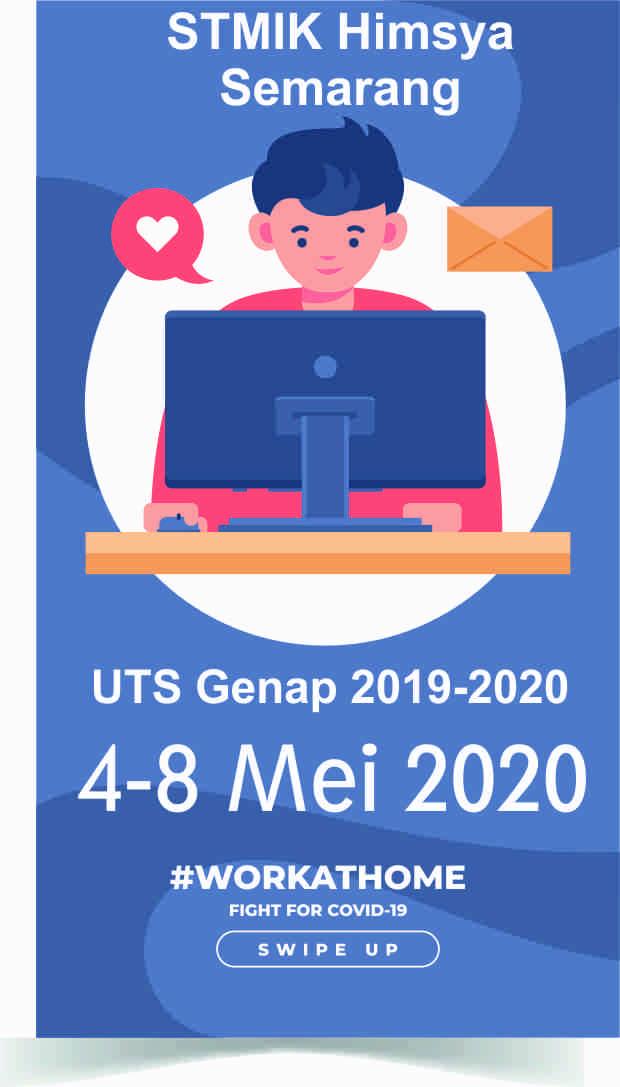 Ujian Tengah Semester (UTS) Genap 2019-2020